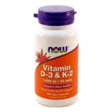 Vitamin D-3 + К2 1000 МЕ 120 капс