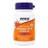 Now vitamin D3 5000 ME 240 капс